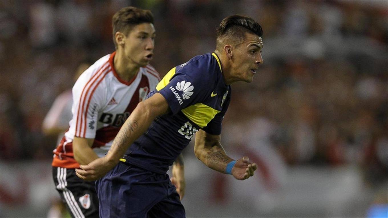 Nacho Fernández se entrenó y será titular en River
