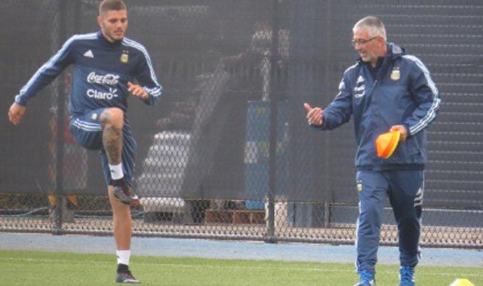 Jorge Sampaoli es presentado como técnico de la Selección de Argentina