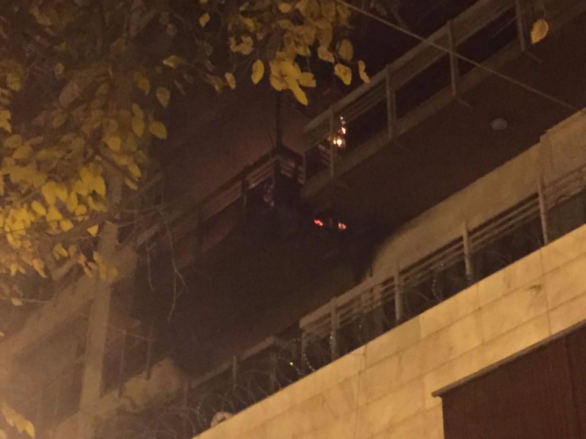 Se incendió un departamento en el microcentro de Mendoza