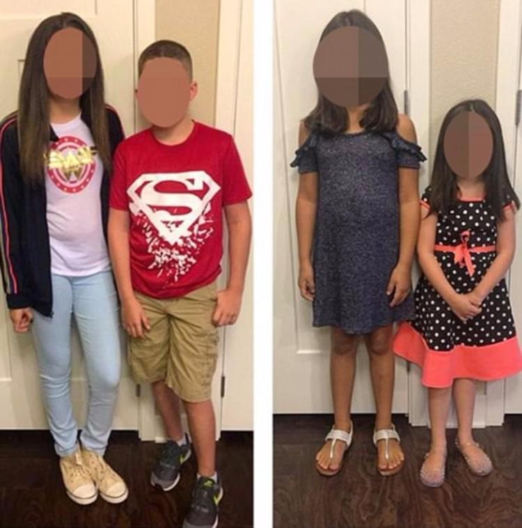 Se va de vacaciones a Europa y deja a sus cuatro hijos pequeños solos en casa