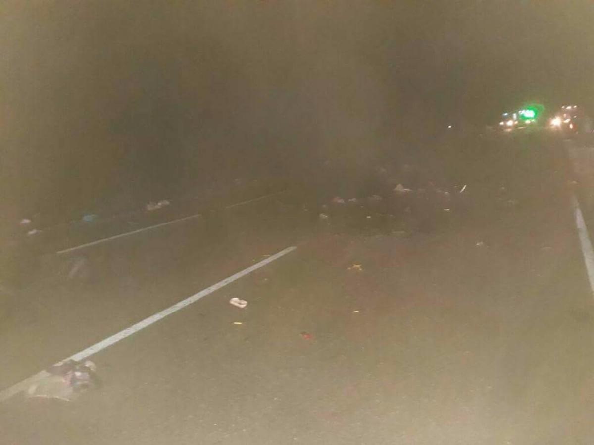 Cinco muertos en un accidente fatal en Santa Rosa
