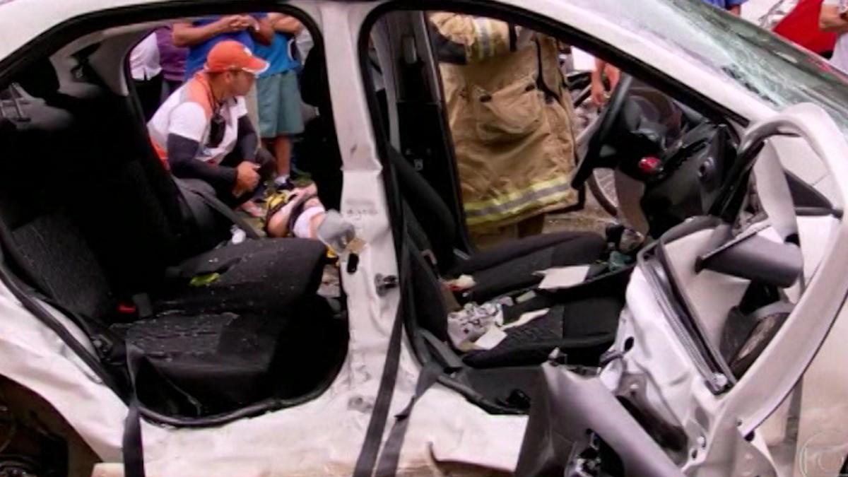 Dos argentinos murieron por un trágico choque — Río de Janeiro