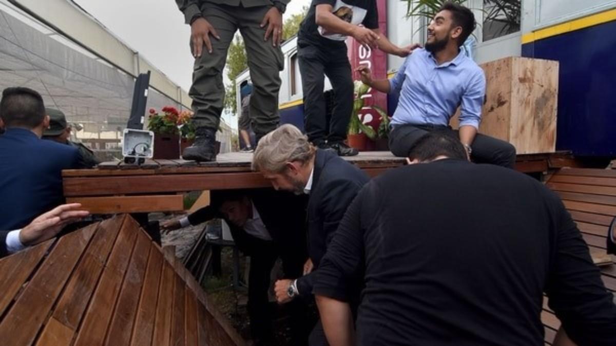 Se derrumbó un sector del restaurante de Margarita Barrientos