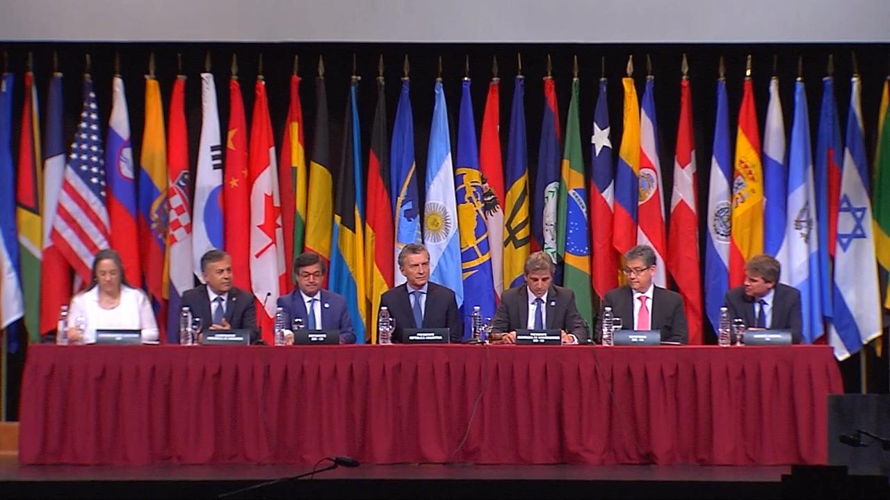 Avanza la Reunión Anual del Banco Interamericano de Desarrollo