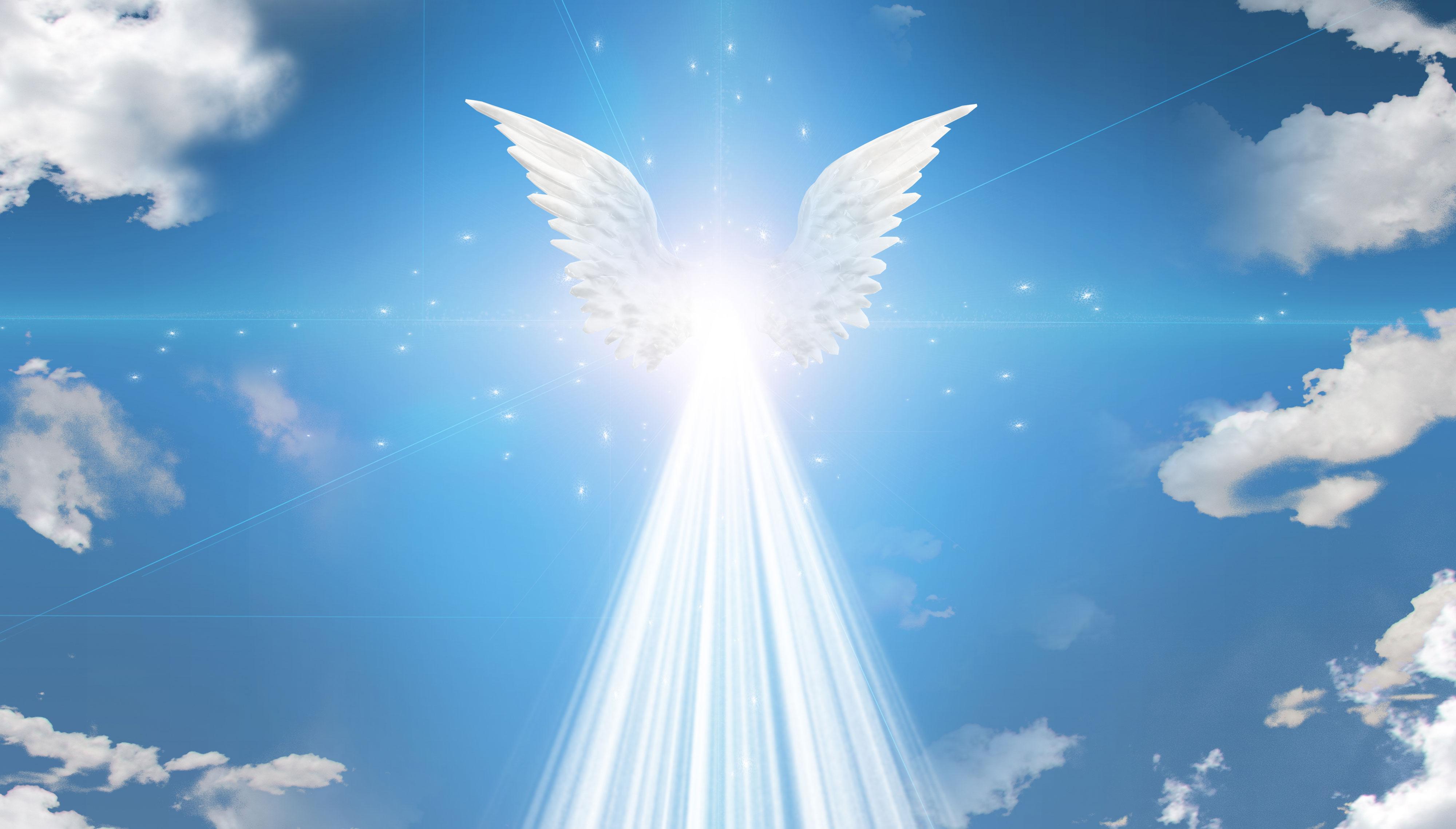 imágenes de ángeles celestiales de Dios