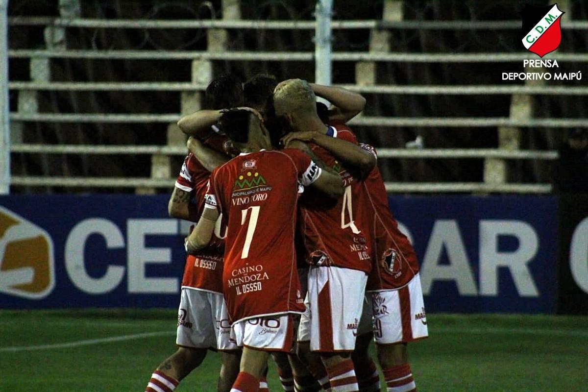Chacarita Juniors vs Deportivo Maipú, Copa Argentina — En vivo