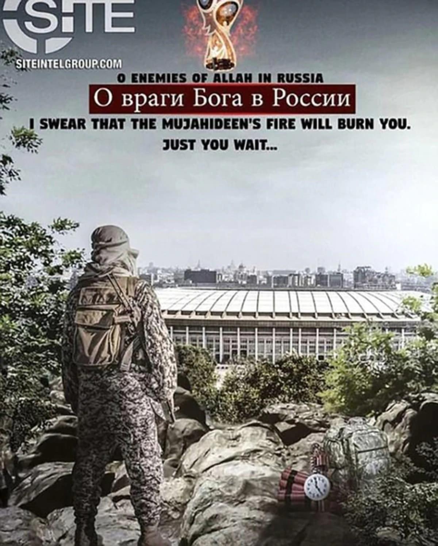 ISIS amenaza con bombardear el Mundial de Rusia
