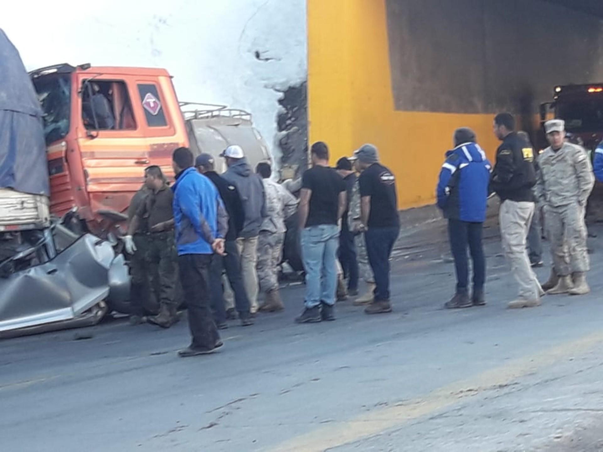 Al menos dos fallecidos deja accidente vehicular en Camino Internacional — Los Andes