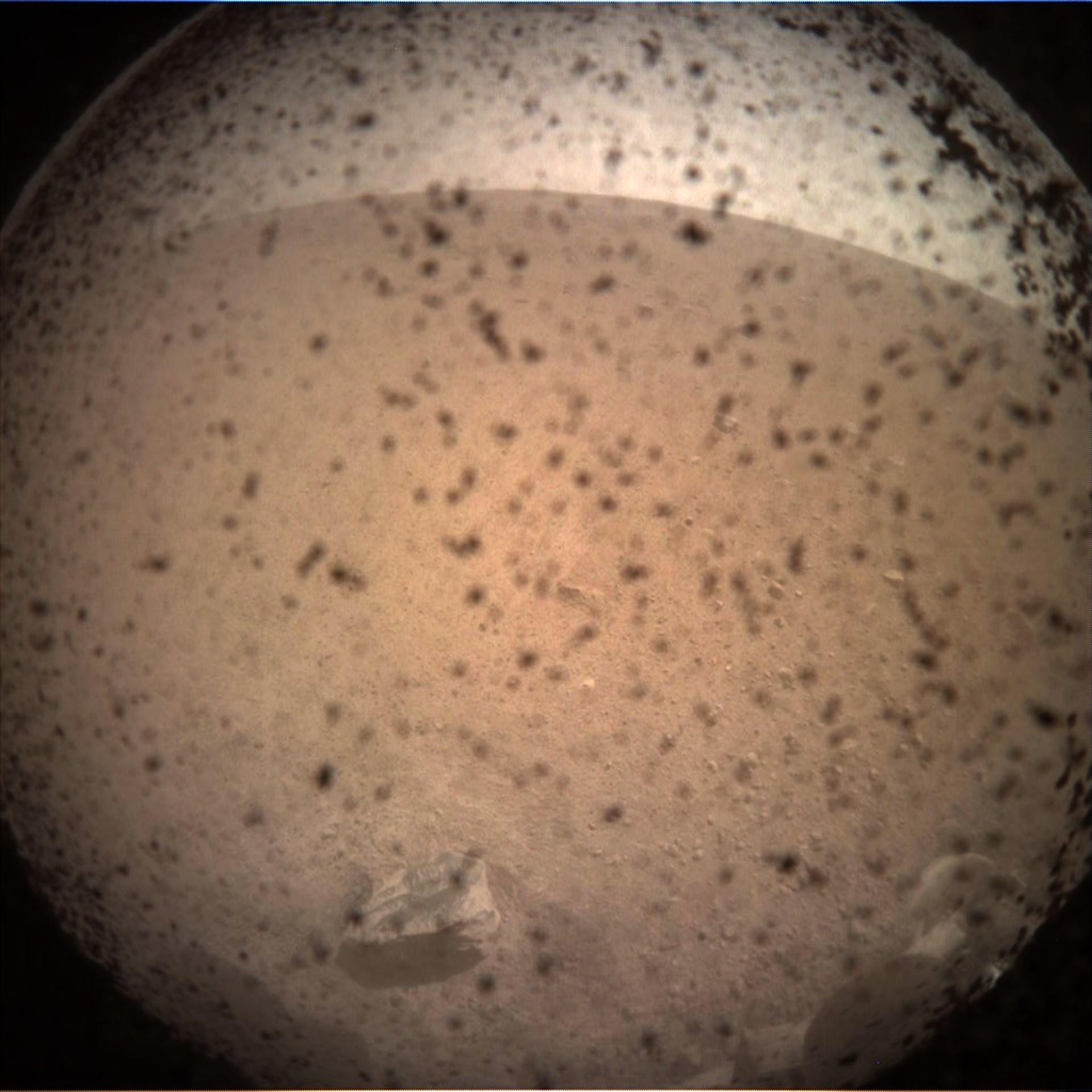 Misión de la NASA, módulo InSight, aterrizó en la superficie de Marte