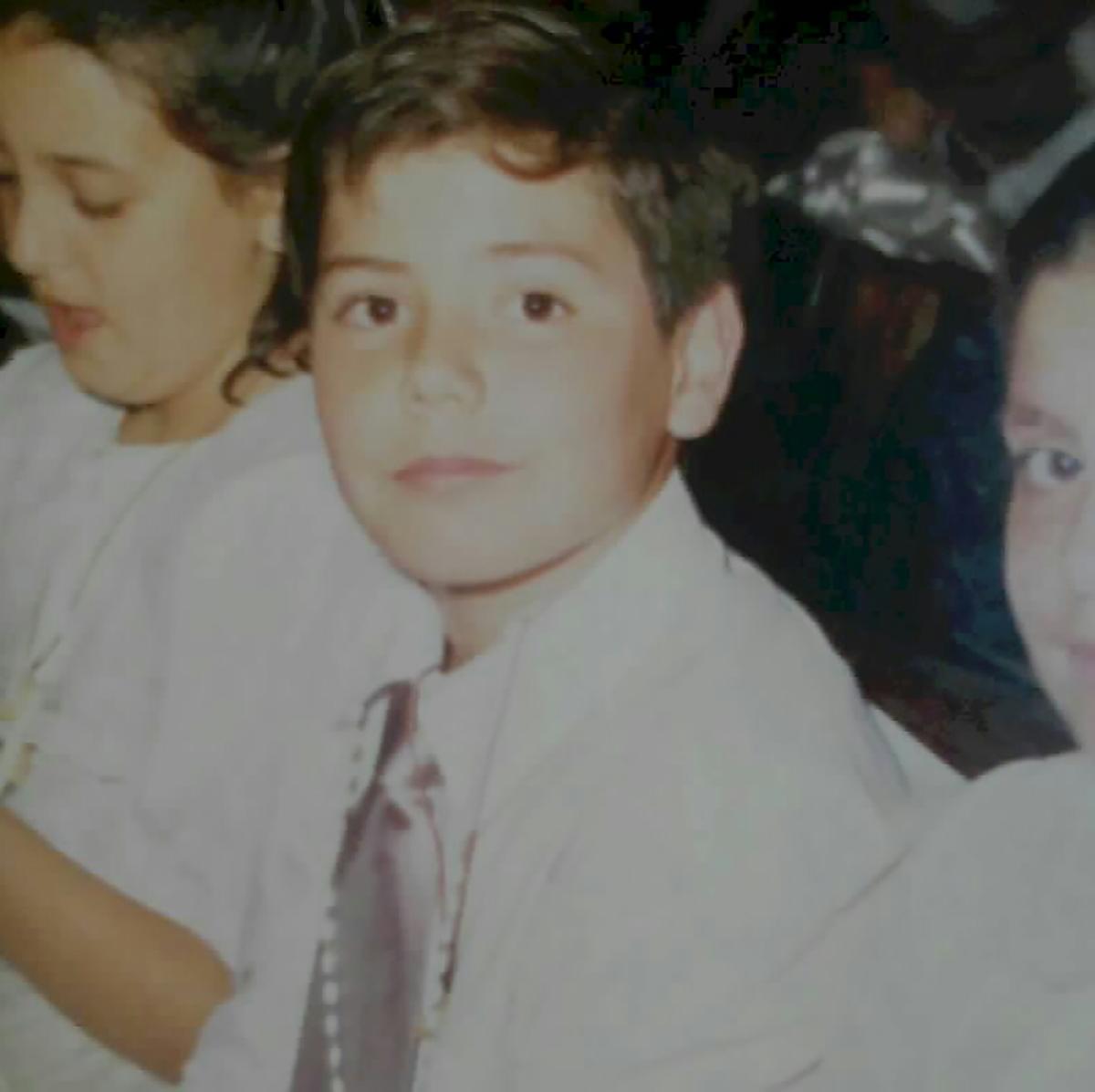 Foto de emiliano serrano de niño canal 9 mendoza noticiero nueve