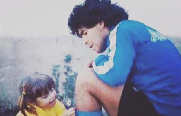 La Conmovedora Despedida De Dalma A Diego Maradona Canal 9 Televida Mendoza