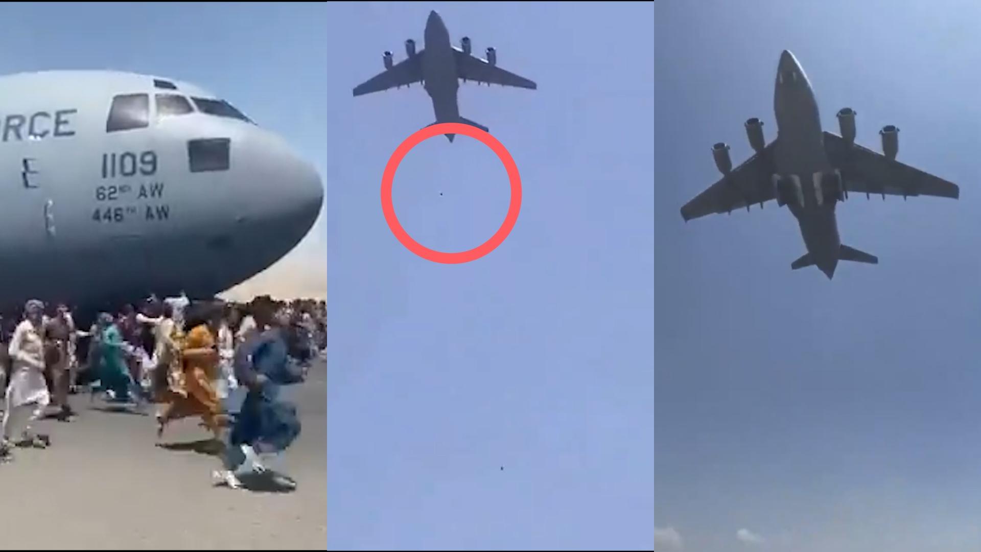 Afganistán: se cuelgan de aviones para huir de los talibanes y caen desde  el aire - Canal 9 Televida Mendoza